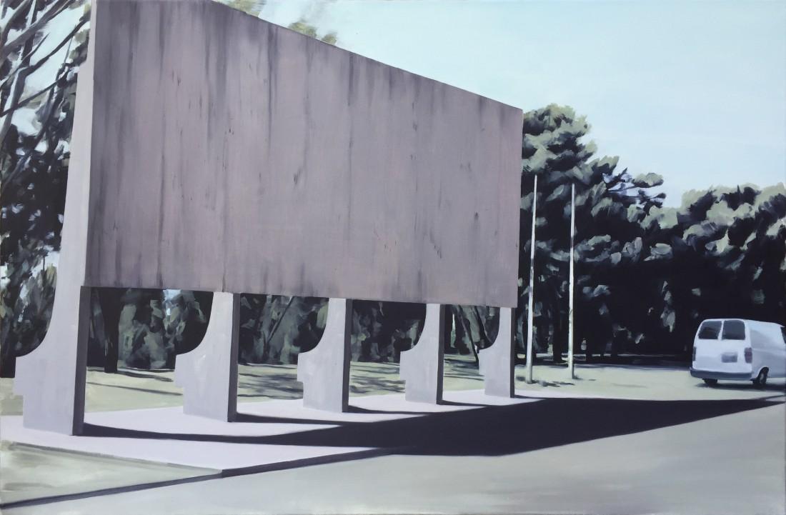 Projektion 75 x 115 cm 2015